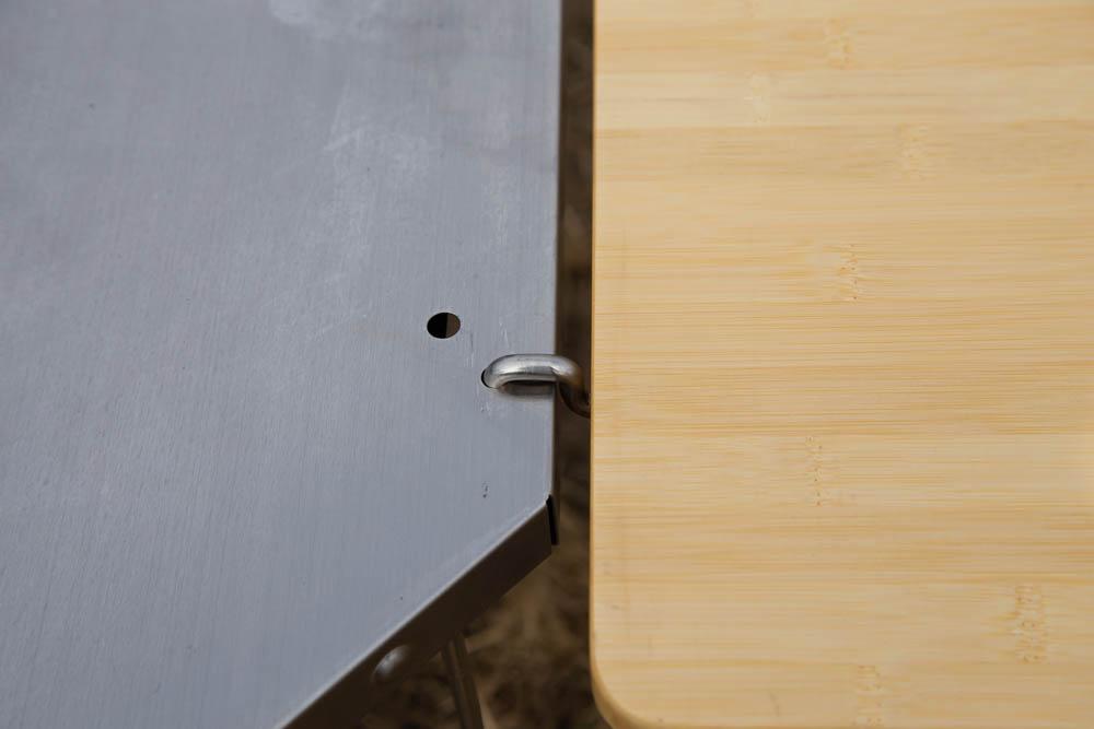 マルチファンクションテーブルのフック