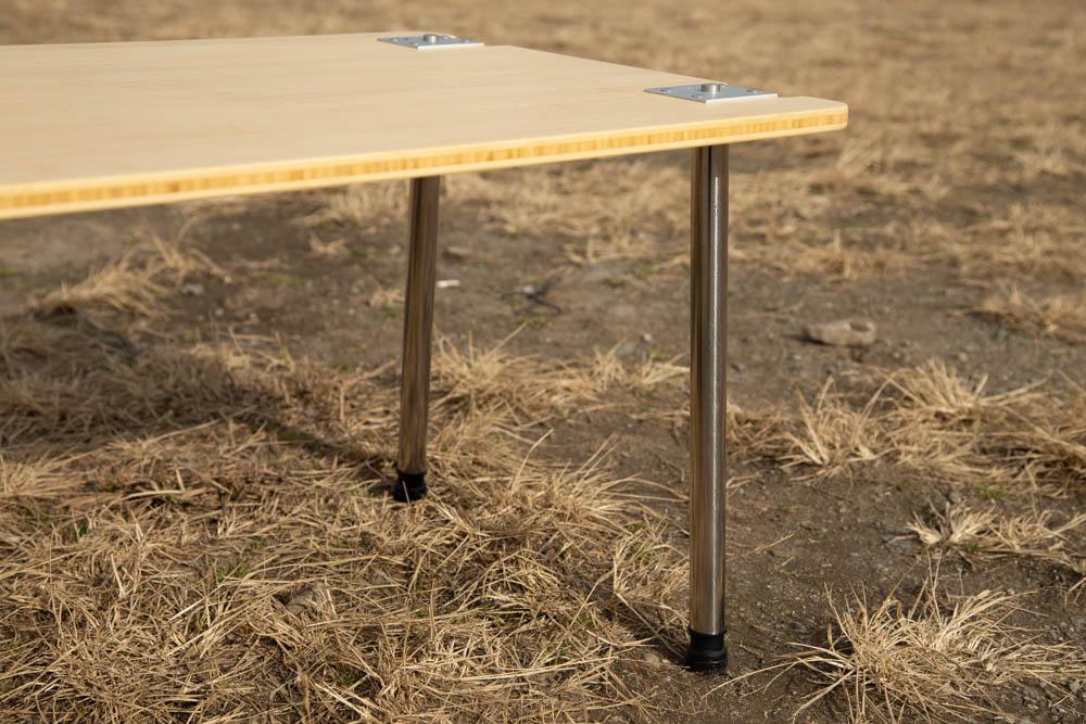 マルチファンクションテーブルの脚