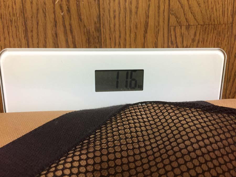 スターターセットの重量