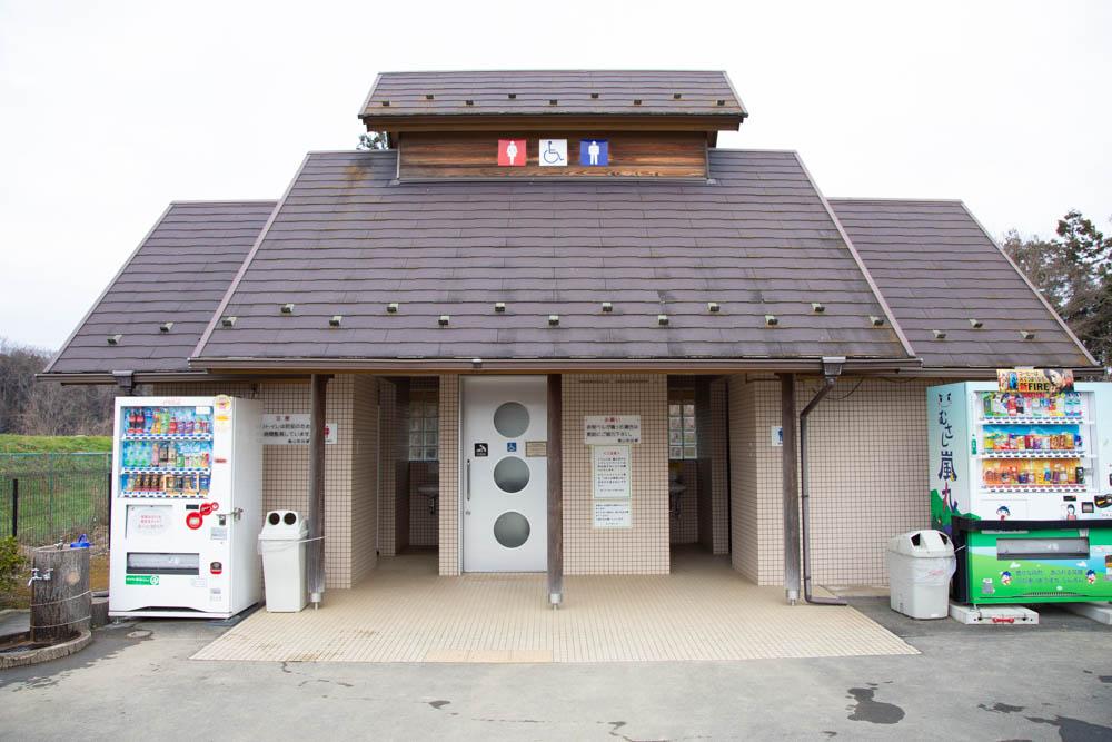 学校橋河原のトイレ