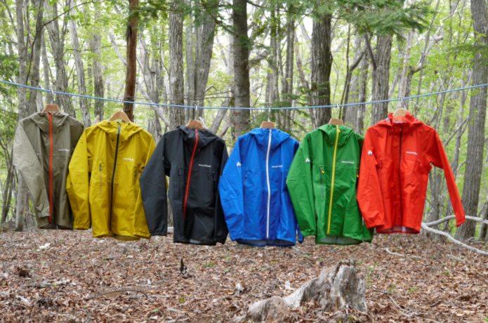 キャンプのときの服の色