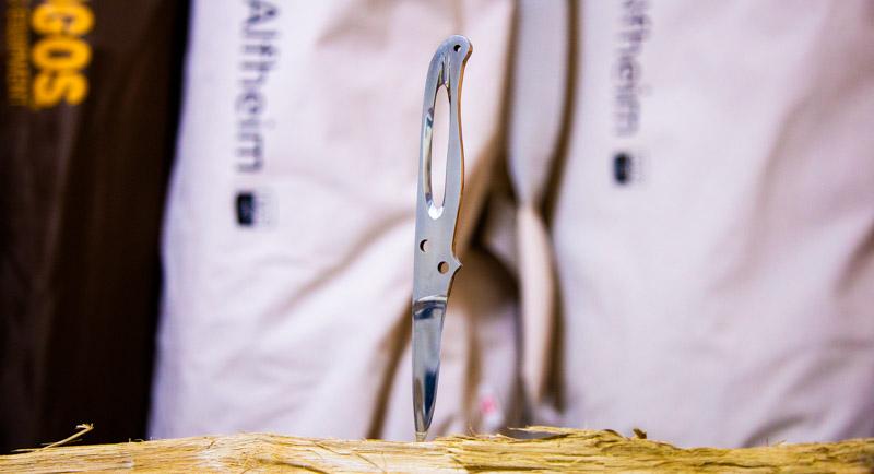 自作ナイフ